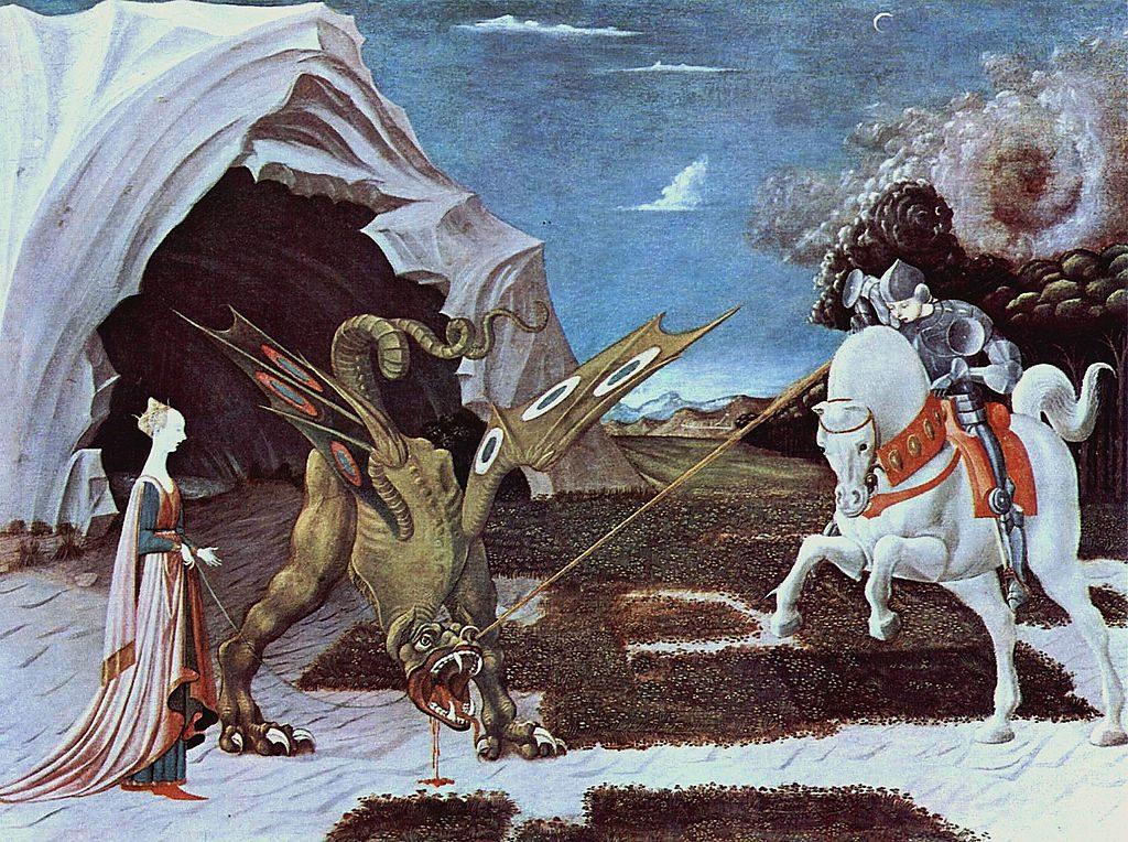 Paolo Uccello [Public domain or Public domain], via Wikimedia Commons